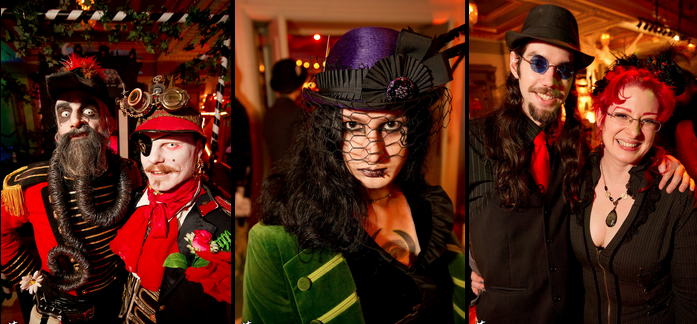 Costumed revelers at The Edwardian Ball. Photo Credit: edwardianball.com.
