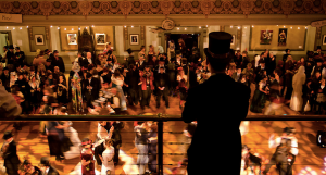 Overlooking the ballroom. Photo Credit: edwardianball.com,