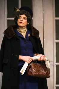 "Stacy Ross as Baronness Hilla Rebay in the world premiere production of Lauren Gunderson's ""Bauer"" at SF Playhouse. Photo credit: Lauren English."