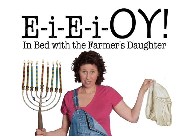 "Vivien Straus presents her one-woman show, ""E-i-E-i-OY"""