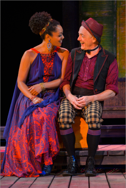 Nemuna Ceesay as Adriana and Danny Scheie as Berne.