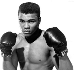 Mohammed Ali in 1964