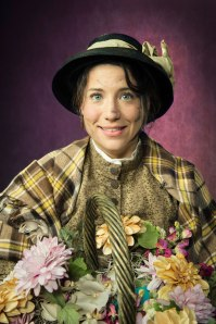 Irene Lucio as Eliza Doolittle. Photo Credit: Kevin Berne.