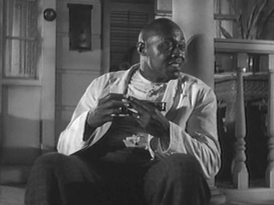 "Film actor Lincoln Perry in character as ""Stepin Fetchit""."