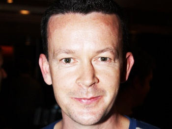 Boyish playwright Enda Walsh looks innocent enough, but his scripts pack quite a wallop. Photo Credit: Broadway World.