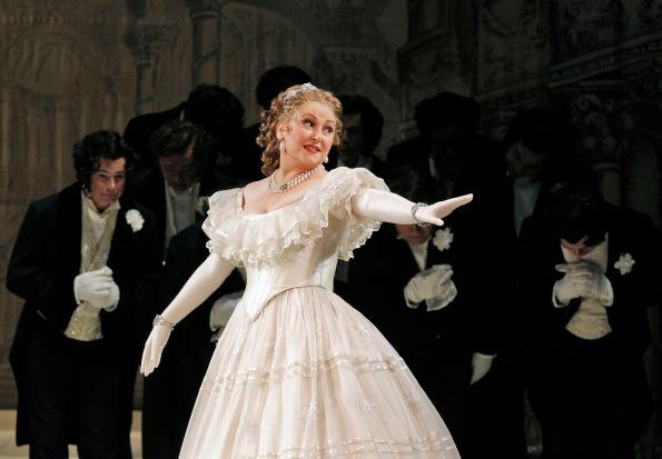 "Karine Deshayes as Angelina (Cinderella) in ""La Cenerentola"". Photo Credit: Cory Weaver."