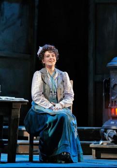 Alexia Voulgaridou as Mimi. Photo Credit: Cory Weaver.