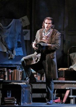 Michael Fabiano as Rodolfo. Photo Credit: Cory Weaver.