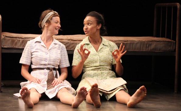 Dee (Jessi Campbell) and Jamie (Tristan Cunningham). Photo Credit: Jennifer Reiley.