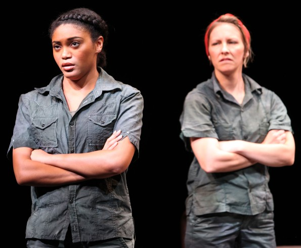Young Jamie (Angel Moore) and Young Dee (Siobhan Marie Doherty). Photo Credit: Jennifer Reiley.