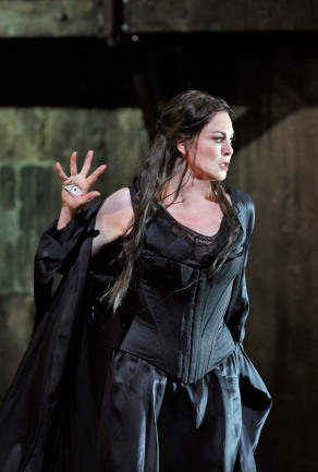 Anna Caterina Antonacci as Cassandra. Photo Credit: Cory Weaver.