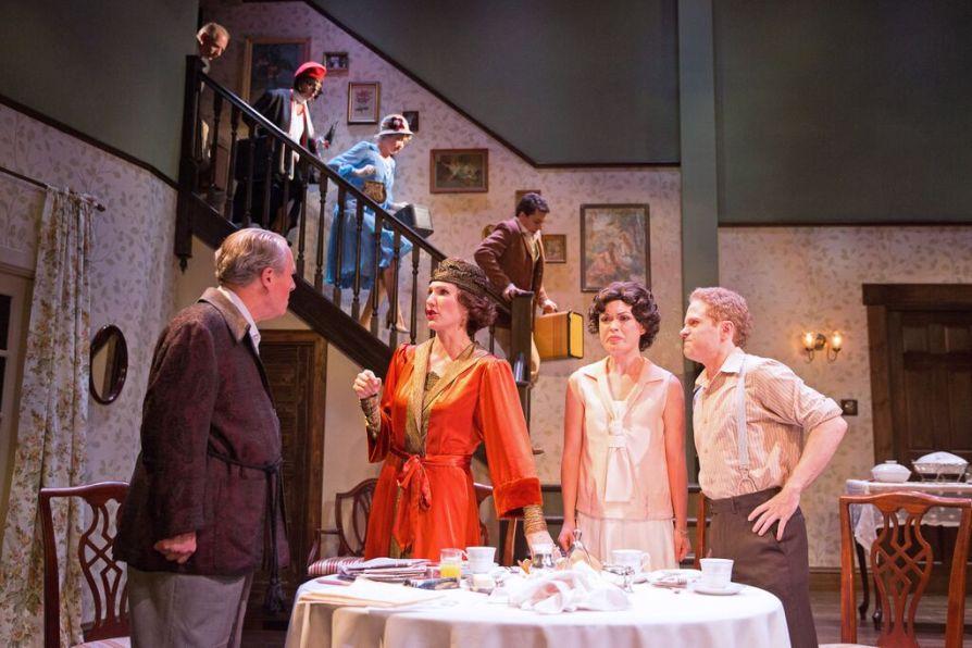 The cast of Noël Coward's