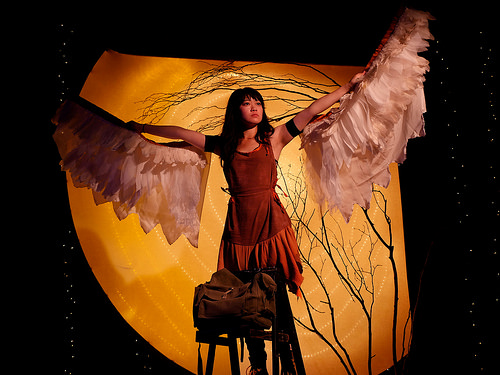 Monica Ho as Sadoko in Ferocious Lotus Theatre Company's world premiere production of JC Lee's
