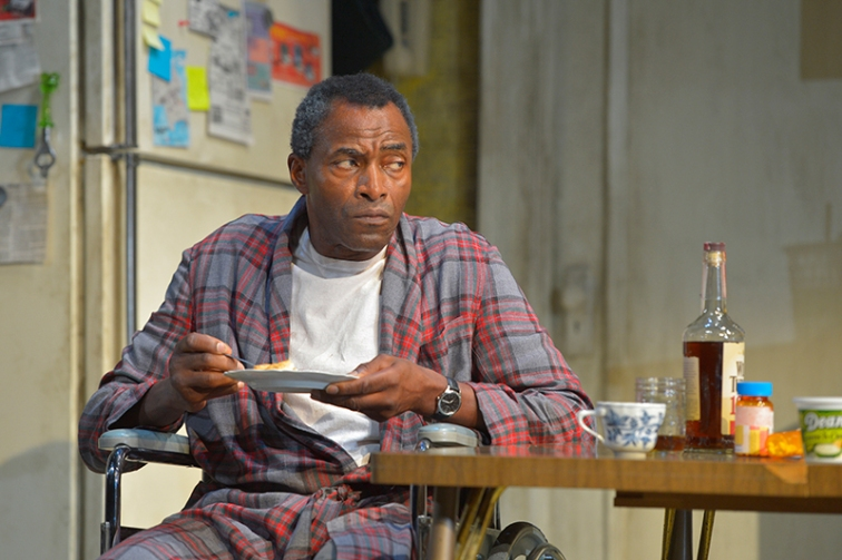 "Carl Lumbly stars as Walter ""€œPops"" Washington in Stephen Adly Guirgis'€™s Pulitzer Prize–winning dark comedy, ""Between Riverside and Crazy."" Photo Credit: Kevin Berne."