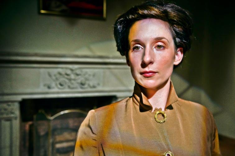 Kathryn Zdan plays Ada Lovelace, in Lauren Gunderson's new work,