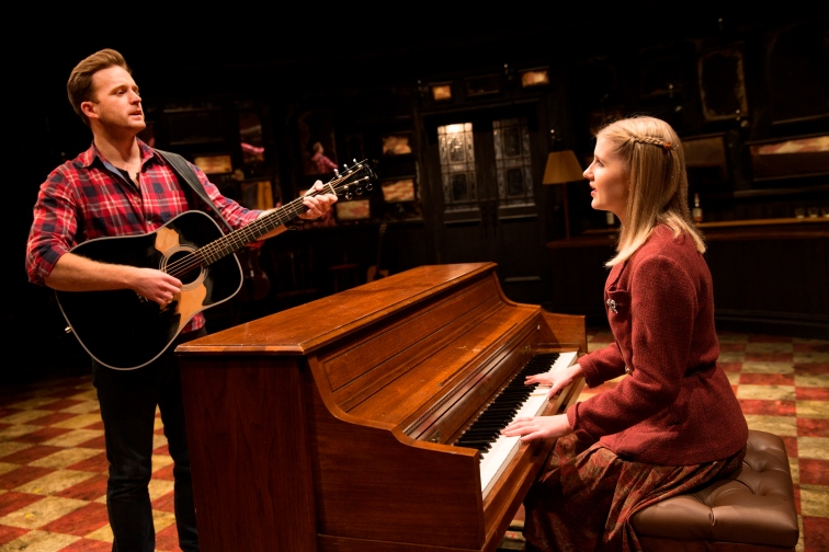 Stuart Ward as Guy and Dani de Waal as Girl share potent musical and emotional chemistry in