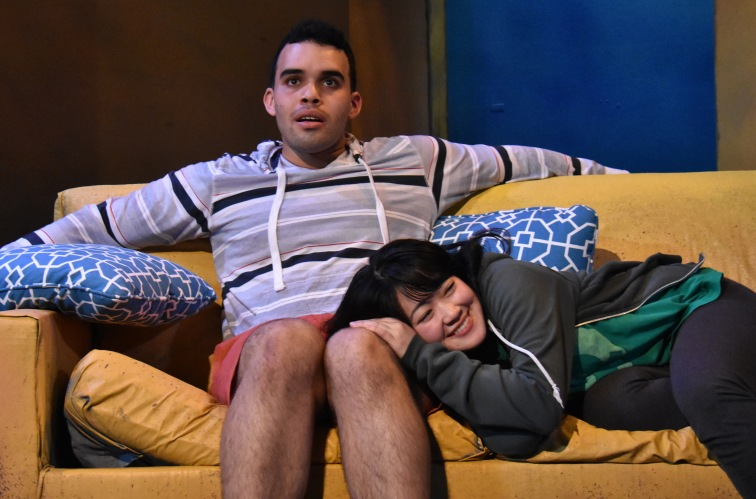 """Ed Berkeley and Monica Ho are charming and delightful in the Madhuri Shekar's sweet and gentle romantic comedy, """"In Love and Warcraft"""" set in the gamer subculture."""