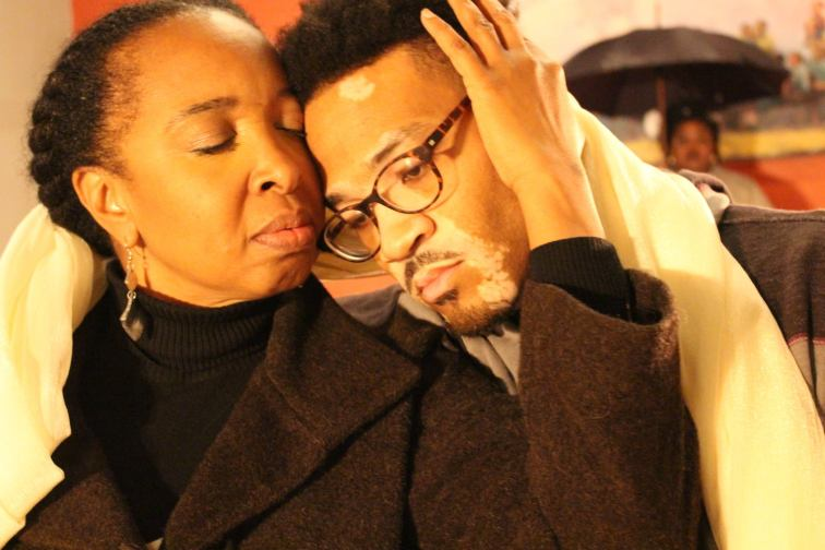 "Dawn Troupe and William Hartfield in ""The Gospel of Lovingkindness"" from Ubuntu Theater Project."