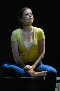 """Margo Seibert as Cathy in A.C.T.'s production of """"The Last Five Years."""" Photo Credit: Kevin Berne."""