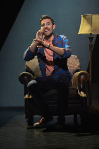 """Zak Resnick as Jamie in A.C.T.'s production of """"The Last Five Years."""" Photo Credit: Kevin Berne."""