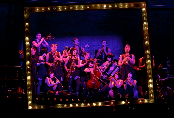 "Even the orchestra is beautiful in Roundabout Theater Company's Touring production of ""Cabaret."" Photo Credit: Joan Marcus."