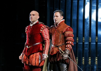 Michael Fabiano (Don Carlo) and Mariusz Kwiecień earn well-deserved bravos for a magnificent duet.