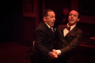 Jason Pienkowski (left) as Leland and Brian Martin (right) as Cliff. Photo Credit: Peter Liu.
