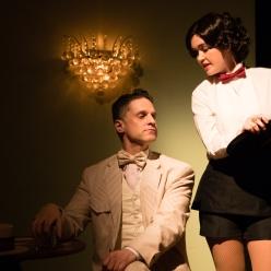 Robert Mollosi as Eugene and Megan Wicks as Rose. Photo Credit: Peter Liu.